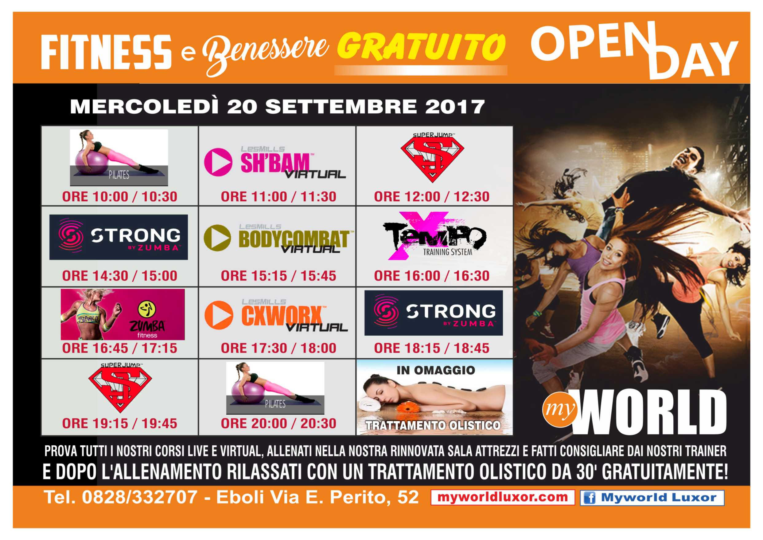 openday settembre 2017